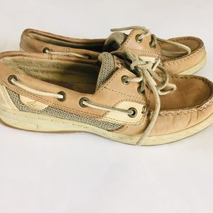 Sperry Top-Sider Leather Boat Shoes Size 6.5